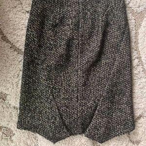 Zac Posen Tweed Skirt